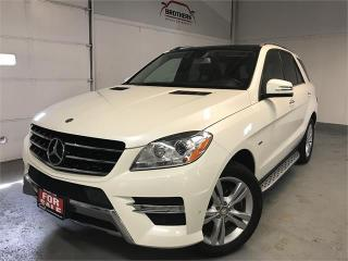Used 2012 Mercedes-Benz ML-Class ML 350 BlueTEC for sale in Burlington, ON