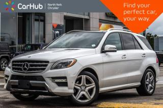 Used 2015 Mercedes-Benz ML-Class ML 350 BlueTEC 4Matic|Pkng.Assist Pkg|Pano_Sunroof for sale in Thornhill, ON