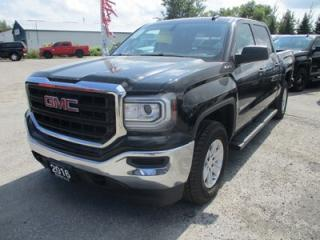 Used 2016 GMC Sierra 1500 WORK READY SL EDITION 6 PASSENGER 5.3L - V8.. 4X4.. CREW.. SHORTY.. AUX/USB INPUT.. BLUETOOTH.. BACK-UP CAMERA.. for sale in Bradford, ON