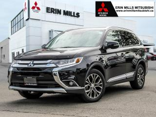 Used 2016 Mitsubishi Outlander GT S-AWC, Leather, Navigation, Sunroof for sale in Mississauga, ON