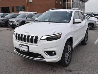 New 2019 Jeep Cherokee Overland|4X4|APPLE CARPLAY|NAV|BACKUP CAM for sale in Concord, ON