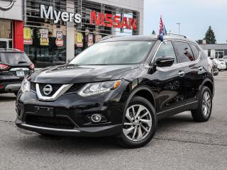 Used 2014 Nissan Rogue SL AWD leather, nav, heated seats, panaroof, Bluetooth, electric seat, reverse camera, intelligent key for sale in Orleans, ON