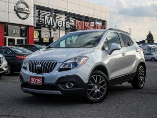 Used 2016 Buick Encore AWD navigation, reverse camera, Bluetooth, CD, power locks, lumbar support, cruise control for sale in Orleans, ON