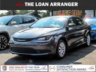 Used 2015 Chrysler 200 for sale in Barrie, ON
