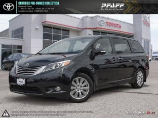 Used 2017 Toyota Sienna XLE LTD 7-Passenger V6 FULLY LOADED NAVI, SUNROOF, LEATHER AND MORE for sale in Orangeville, ON