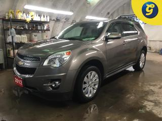 Used 2012 Chevrolet Equinox 1LT*CHEVY MYLINK CONNECT TOUCH SCREEN*AUTO START*HANDS-FREE PHONE*STEERING WHEEL CONTROL/VOICE RECOGNITION*RAIN GUARDS*CHILD LOCKS ON REAR DOORS*TWO T for sale in Cambridge, ON