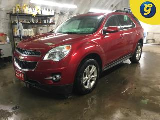 Used 2014 Chevrolet Equinox 2LT*CHEVY MYLINK CONNECT TOUCH SCREEN*AUTO START*TWO TONE LEATHER*HEATED FRONT SEATS*POWER LIFT GATE*HANDS-FREE PHONE STEERING WHEEL CONTROL/VOICE REC for sale in Cambridge, ON