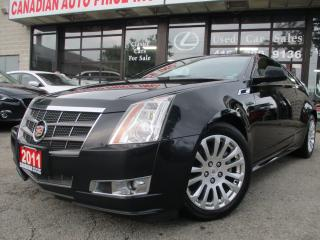 Used 2011 Cadillac CTS Performance Collection-COUPE-LOADED for sale in Scarborough, ON