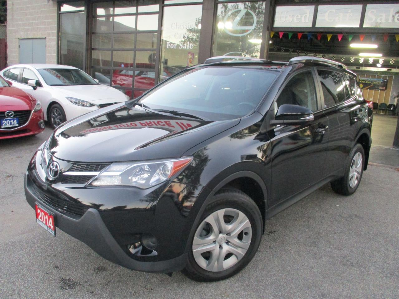 2014 Toyota RAV4 LE-CAMERA-ALLOYS-HEATED