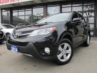 Used 2014 Toyota RAV4 XLE-CAMERA-ALLOYS-SUNROOF-FOG-LIGHT-HEATED for sale in Scarborough, ON