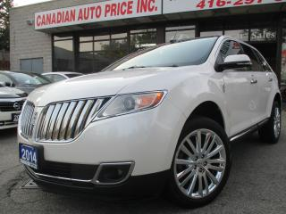 Used 2014 Lincoln MKX TECH-PKG-PRM-NAVI-CAM-PANORAMIC-ROOF for sale in Scarborough, ON