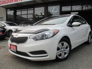 Used 2015 Kia Forte LX for sale in Scarborough, ON