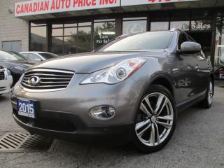 Used 2015 Infiniti QX50 PREMIUM-PKG-AWD-CAMERA-LOADED for sale in Scarborough, ON