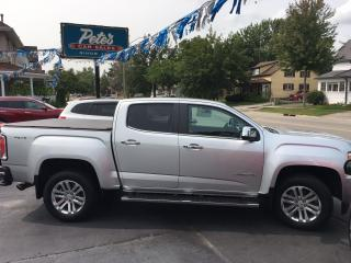 Used 2016 GMC Canyon 4WD SLT Crew 4X4 for sale in Dunnville, ON