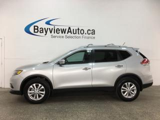 Used 2016 Nissan Rogue SV - PANOROOF! PUSH START! REVERSE CAM! NISSAN CONNECT! for sale in Belleville, ON