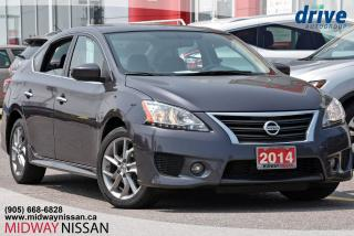 Used 2014 Nissan Sentra 1.8 SR SR - Navigation|Bluetooth|Sunroof for sale in Whitby, ON