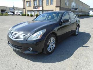 Used 2011 Infiniti G37 Berline 4 portes Luxe, traction intégral for sale in Mirabel, QC