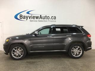 Used 2015 Jeep Grand Cherokee Summit - ECODIESEL! QUADRA-LIFT! PANOROOF! HTD/AC LTHR! NAV! HARMON KARDON! for sale in Belleville, ON