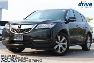 Used 2014 Acura MDX Elite Package for sale in Pickering, ON