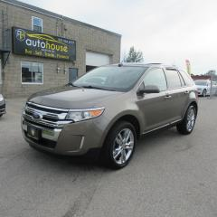 Used 2013 Ford Edge SEL V6 3.5, LEATHER, PANORAMIC ROOF, BLUETOOTH, BACKUP CAMERA for sale in Newmarket, ON