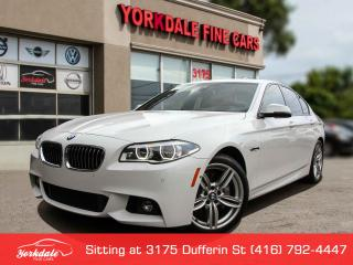 Used 2015 BMW 535 I xDrive M Sport, Navigation, 360 Camera, HeadUp Display for sale in Toronto, ON