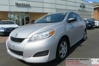 Used 2010 Toyota Matrix BASE for sale in Unionville, ON