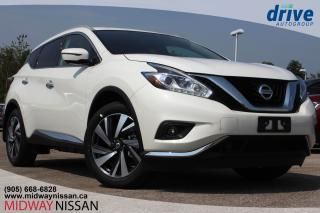 New 2018 Nissan Murano Platinum AWD CVT for sale in Whitby, ON