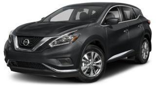 New 2018 Nissan Murano SV AWD CVT for sale in Whitby, ON