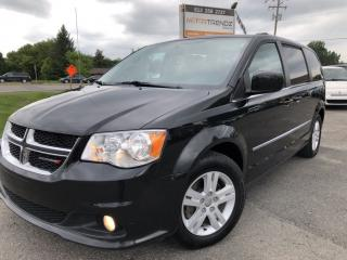 Used 2017 Dodge Grand Caravan Crew Loaded! Leather, Heated Steering, Heated Seats, BackupCam, Pwr Sliding Doors and Hatch! for sale in Kemptville, ON