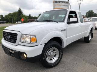 Used 2009 Ford Ranger Sport V6 Ext Cab 2WD! Pwr Windows, Cruise, Alloys, Fog Lights and Keyless Entry! for sale in Kemptville, ON
