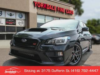 Used 2015 Subaru WRX STI Sport-tech Package Navigation, Camera, Roof, No Accidents for sale in Toronto, ON