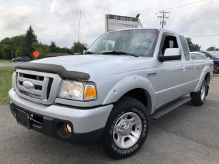 Used 2010 Ford Ranger Sport V6 Auto with Air, Alloys and Fog Lights! for sale in Kemptville, ON