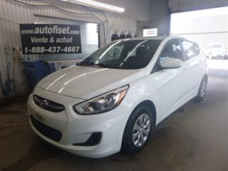 Used 2015 Hyundai Accent L for sale in St-raymond, QC