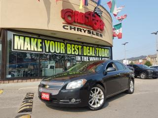 Used 2010 Chevrolet Malibu LTZ LEATHER SUNROOF LOW KMS for sale in Toronto, ON