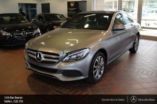 Used 2016 Mercedes-Benz C-Class C300 Awd, Volant Ch for sale in Québec, QC