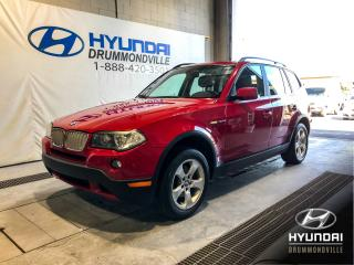Used 2007 BMW X3 3.0SI X-DRIVE + TOIT + CUIR + WOW ! for sale in Drummondville, QC