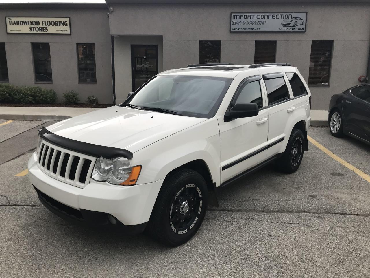 2008 Jeep Grand Cherokee Laredo,LEATHER,SUNROOF,CERTIFIED!