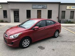Used 2012 Hyundai Accent GLS,CERTIFIED,NEW TIRES ! for sale in Burlington, ON