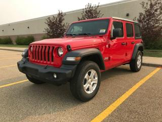 New 2018 Jeep Wrangler Unlimited Sport 4x4 / Back Up Camera for sale in Edmonton, AB
