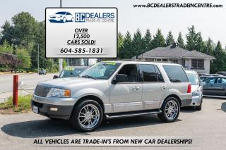 Used 2003 Ford Expedition XLT 4x4, Aftermarket Wheels, 8-Passenger, Clean! for sale in Surrey, BC
