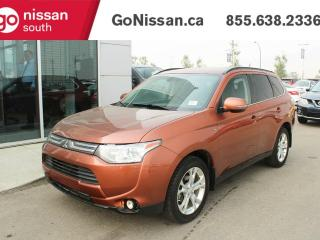 Used 2014 Mitsubishi Outlander GT, AWD, LEATHER, HEATED SEATS, SUNROOF for sale in Edmonton, AB