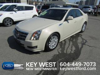 Used 2010 Cadillac CTS Sedan Leather Heated Seats for sale in New Westminster, BC