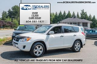 Used 2010 Toyota RAV4 4WD, Reliable, Excellent Value, 4-Cyl, Clean! for sale in Surrey, BC