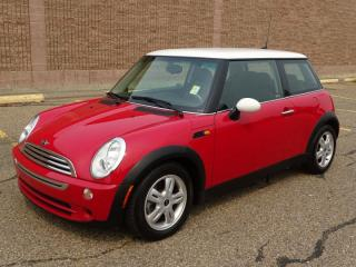 Used 2006 MINI Cooper Hardtop SE Accident Free,  Bluetooth,  A/C, for sale in Edmonton, AB