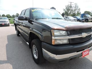 Used 2004 Chevrolet Silverado 2500 LS. Diesel. Crew. 4X4. No winters! for sale in Gorrie, ON