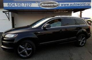 Used 2015 Audi Q7 3.0L TDI S-line for sale in Langley, BC