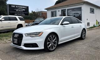 Used 2014 Audi A6 3.0L TDI Technik DIESEL S-LINE QUATTRO NO ACCIDENT for sale in Mississauga, ON