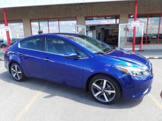 New 2017 Kia Forte SX Back Up Cam, Heated Seats, Bluetooth, - Edmonton Dealer for sale in Sherwood Park, AB