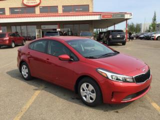 New 2018 Kia Forte LX (AT) Satellite, Bluetooth, - Edmonton Dealer for sale in Sherwood Park, AB