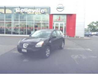 Used 2009 Nissan Rogue S FWD 1 OWNER LOCAL TRADE for sale in Belleville, ON